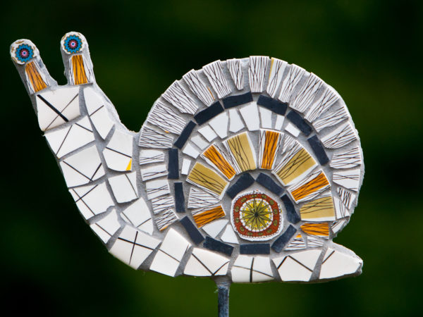 snail,mosaic,sculpture,art,vintage,ceramic