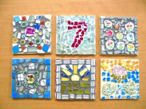 vintage ceramic mosaic workshop