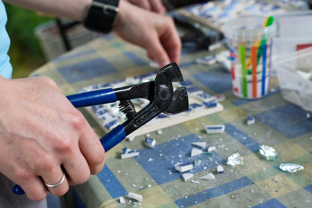 mosaic, workshop,wellbeing,creative,vintage,retro,forage,upcycle,repurpose,reuse